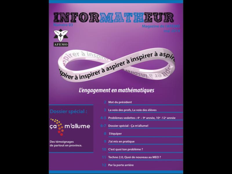 inforMATHeur – Volume 3