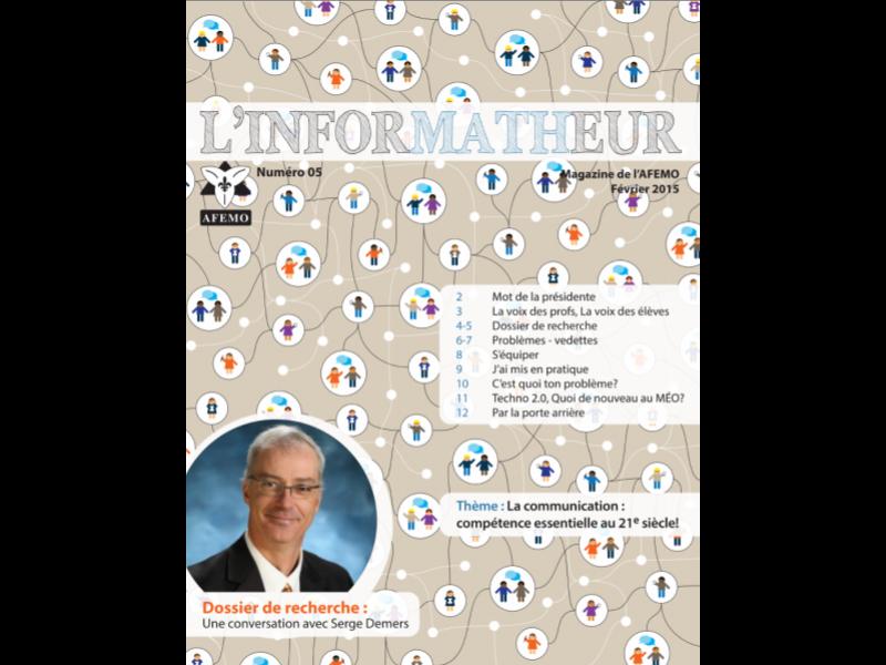 InforMATHeur – Volume 5