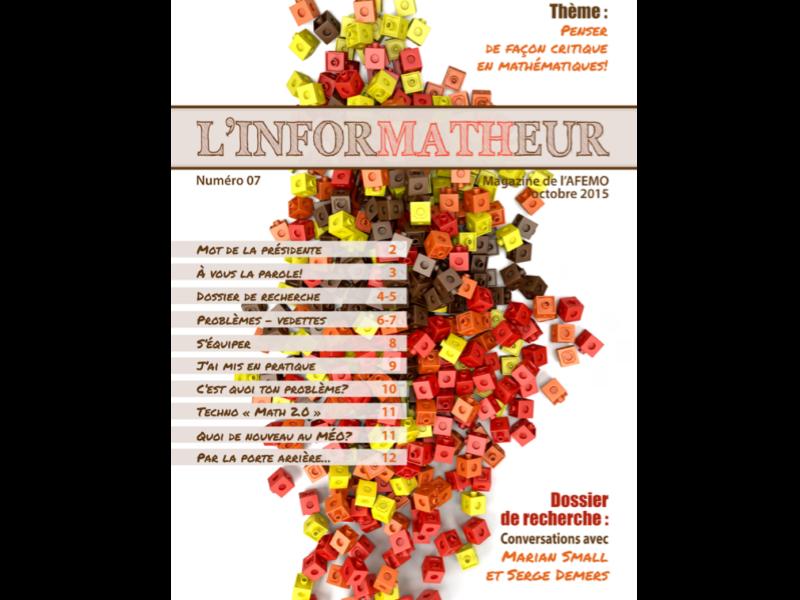 inforMATHeur – Volume 7