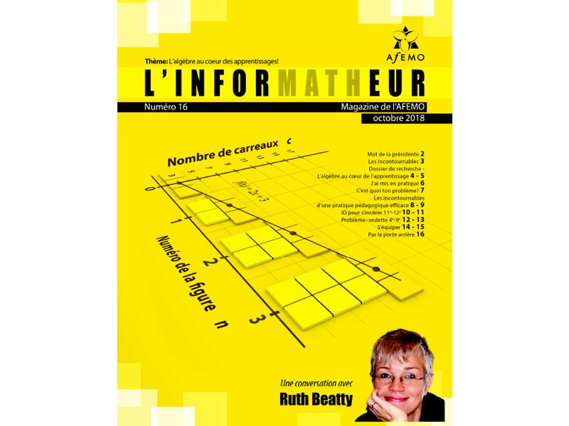 inforMATHeur – Volume 16