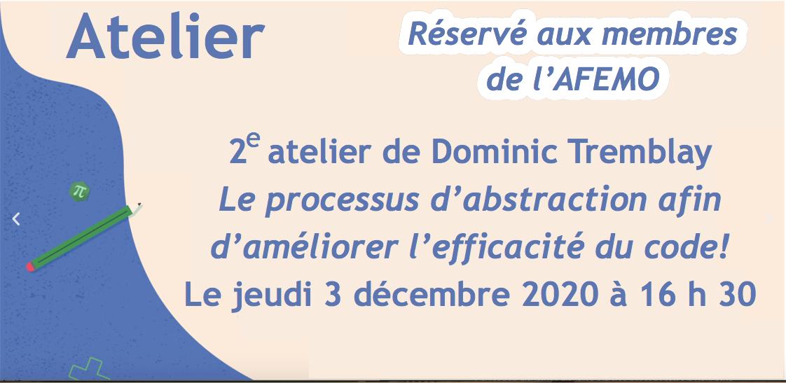 Annonce 2e atelier 3déc2020